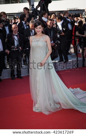 Cannes, France - 19 MAY 2016 - the guest attends the 'Graduation (Bacalaureat)' Premiere during the 69th annual Cannes Film Festival - stock photo