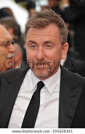 "CANNES, FRANCE - MAY 17, 2012: Tim Roth at the premiere of ""Rust & Bone"" in competition at the 65th Festival de Cannes. May 17, 2012  Cannes, France"