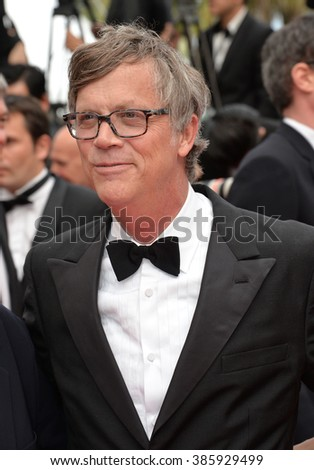 CANNES, FRANCE - MAY 24, 2015: Todd Haynes at the closing gala at the 68th Festival de Cannes.
