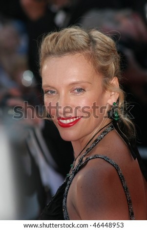 CANNES, FRANCE - MAY 17: Toni Colette arrives at the screening of David Fincher's movie ''Zodiac'' on May 17, 2007 in Cannes, France. - stock photo