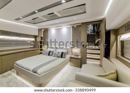 Yacht Interior Stock Images Royalty Free Vectors
