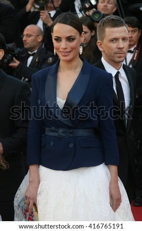 CANNES - MAY 17, 2013: Berenice Bejo attends the Le Passe premiere during The 66th Annual Cannes Film Festival - at the Palais des Festivals on May 17, 2013 in Cannes France
