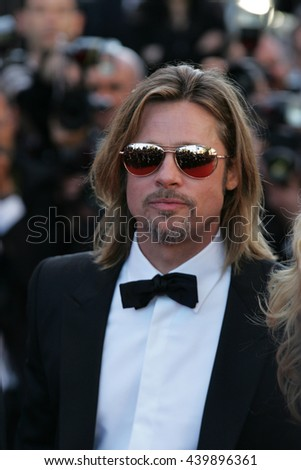CANNES - MAY 22, 2012: Brad Pitt attends the Killing Them Softly Premiere - 65th Annual Cannes Film Festival on May 22, 2012 in Cannes