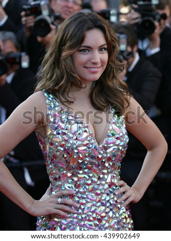 CANNES - MAY 22, 2012: Kelly Brook attends the Killing Them Softly Premiere - 65th Annual Cannes Film Festival on May 22, 2012 in Cannes - stock photo