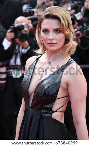 CANNES - MAY 23, 2017: Mischa Barton attends the 70th anniversary event during the 70th annual Cannes Film Festival at Palais des Festivals in Cannes