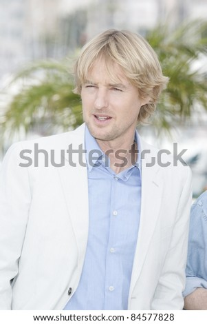 CANNES - MAY 11: Owen Wilson at  the 'Midnight In Paris' photocall at the Palais des Festivals during the 64th Cannes Film Festival on May 11, 2011 in Cannes, France