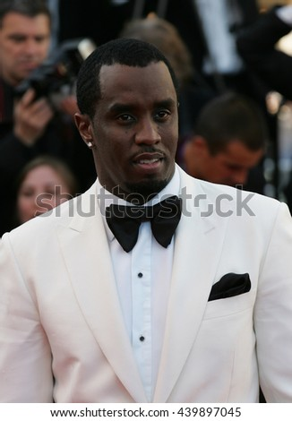 """CANNES - MAY 22, 2012: Sean Combs attends the """"Killing Them Softly"""" Premiere - 65th Annual Cannes Film Festival on May 22, 2012 in Cannes - stock photo"""