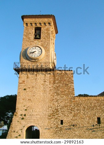 Cannes tower II - stock photo