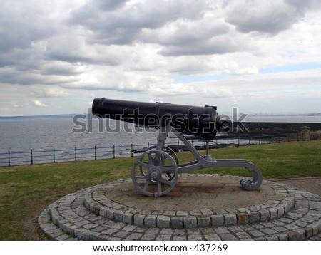 cannon - stock photo