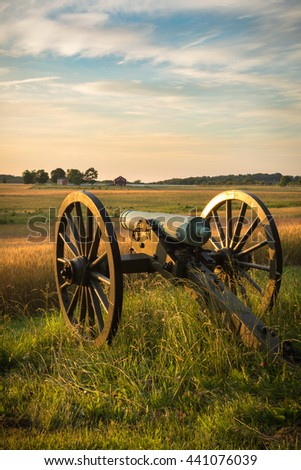 Cannon at Dawn
