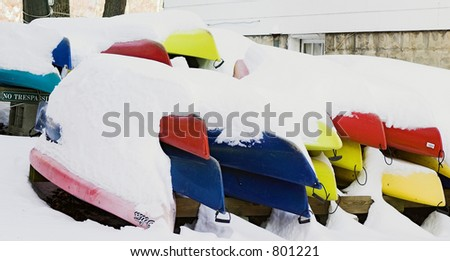Canoe - stock photo