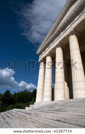 Canova Temple - Possagno, Italy. The temple is a neo-classical building, designed and funded by Canova.