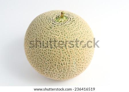 cantaloupe melon - stock photo
