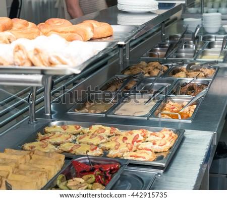 canteen - stock photo