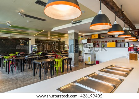 office cafeteria design. canteen in office building cafeteria design