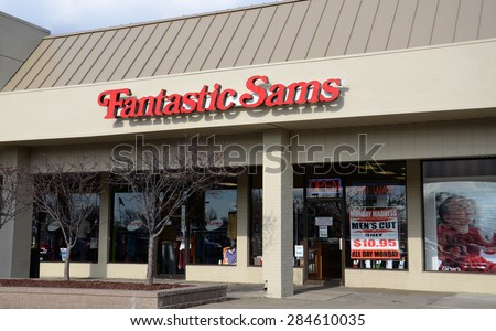 CANTON, MI - DECEMBER 31:  Fantastic Sams, whose Canton location is shown on December 31, 2014, has over 1,200 stores.