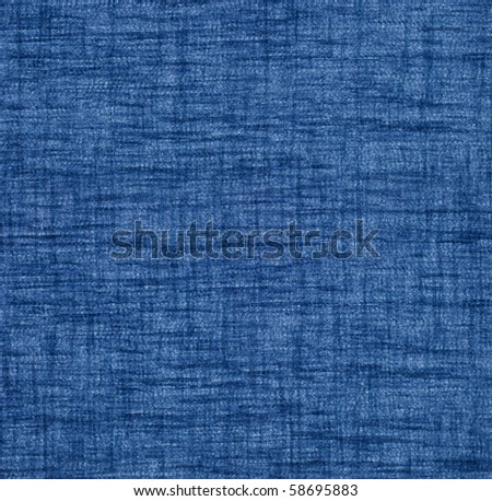 canvas blue texture  (see big collection fabric) - stock photo