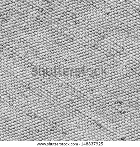 Canvas. Cloth texture background - stock photo