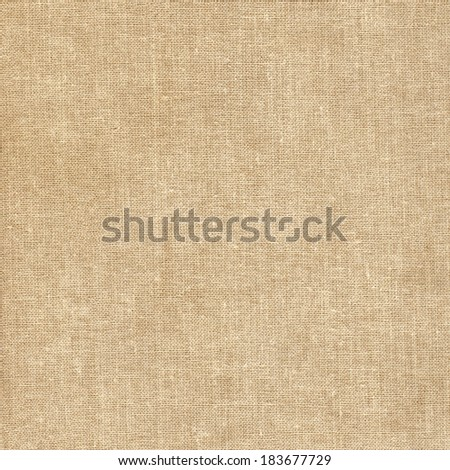 Canvas fabric texture - stock photo