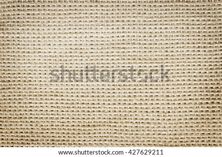 Canvas fabric texture old background - stock photo
