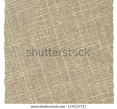 Canvas pattern - stock photo