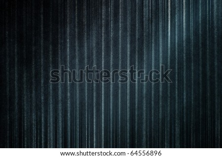 canvas striped black texture fabric - stock photo