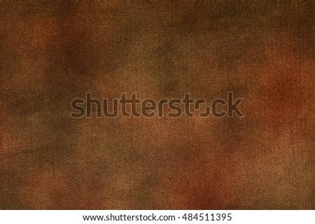 Canvas texture vignette background