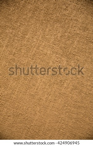 Canvas textured vintage background - stock photo