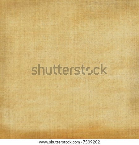 Canvas Weave Burlap Fabric Grunge - stock photo