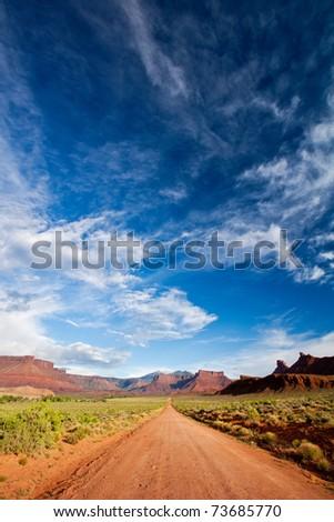 Canyon Country - Moab, Utah - stock photo