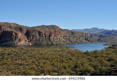 Canyon Lake Arizona is part of Tonto National Forestin Arizona