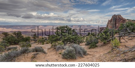 Canyonlands National Park is a U.S. National Park located in southeastern Utah near the town of Moab