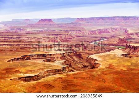 Canyonlands National Park, Moab, Utah, USA - stock photo