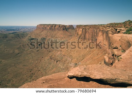Canyonlands National Park near Moab, Utah - stock photo