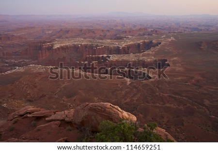 Canyonlands of Utah. Canyonlands National Park, Moab, Utah, U.S.A. Canyons Panorama (Grand View) Nature Photography Collection.
