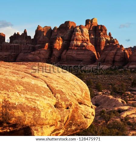 Canyonlands park - stock photo