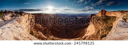 Canyonlands Sunrise - stock photo
