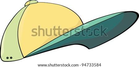 Cap. Cartoon - stock photo