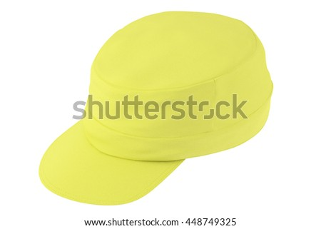 Cap isolated on white background. Include clipping path. 3d render
