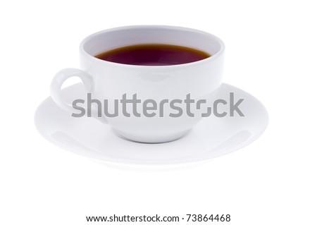 cap of tea - stock photo
