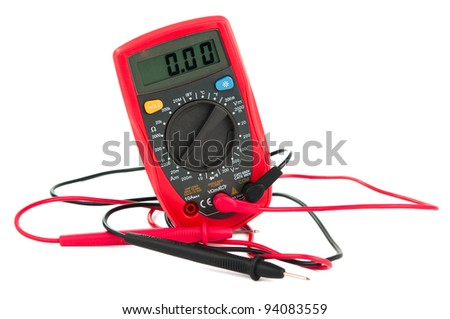 capacitance meters on a white background