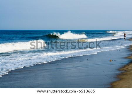 Cape Cod, Atlantic Ocean - stock photo