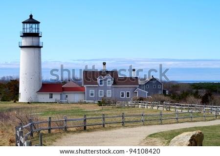 Cape Cod Light - stock photo