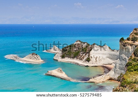 Cape Drastis at Corfu, Greece