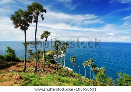 Cape of Phuket,Thailand - stock photo