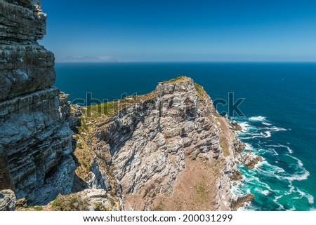 Cape Point South Africa - stock photo