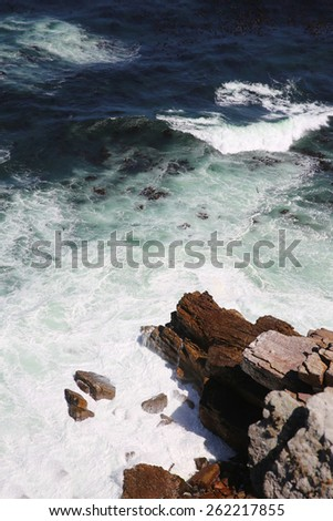 Cape Point. South Africa - stock photo