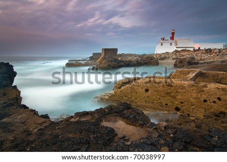 Cape Raso Lighthouse in Cascais, Portugal