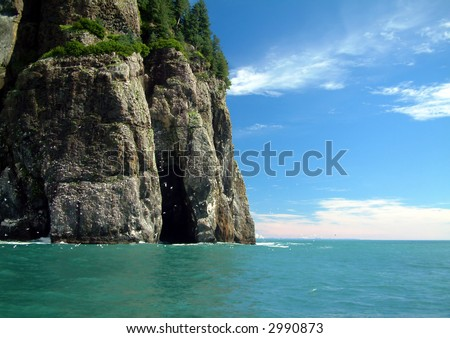 Cape Resurrection, Alaska - stock photo