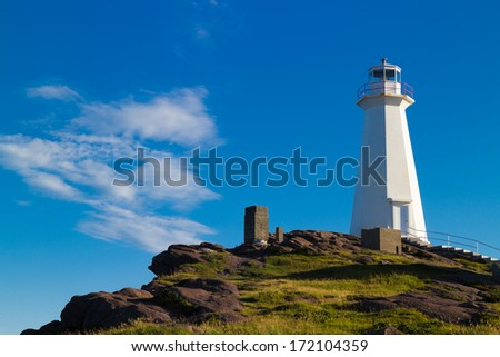 Cape Spear - stock photo
